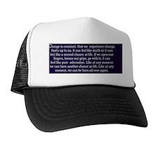 2-greyschangerect Trucker Hat