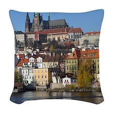 prague Woven Throw Pillow