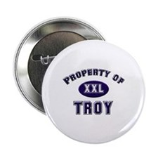 My heart belongs to troy Button