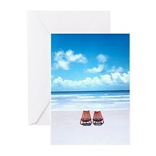 Cute Love swimming Greeting Cards (Pk of 10)