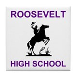 East Chicago Roosevelt Tile Coaster 1