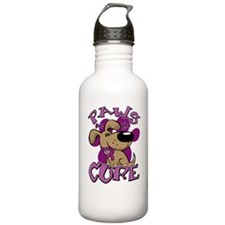Paws-for-the-Cure-Fibr Sports Water Bottle