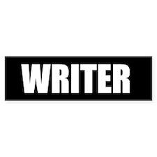 Writer Bumper Bumper Sticker