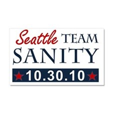 A1 Seattle teamsanity Car Magnet 20 x 12