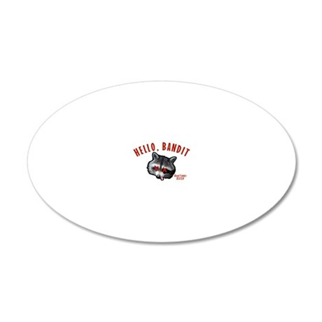 dexter-hello-bandit 20x12 Oval Wall Decal