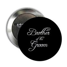 "Brother Of Groom - Formal 2.25"" Button (100 pack)"