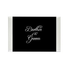 Brother Of Groom - Formal Rectangle Magnet (100 pa