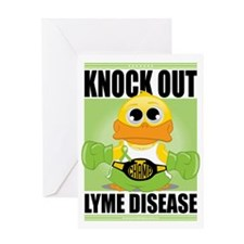Knock-Out-Lyme-Disease Greeting Card