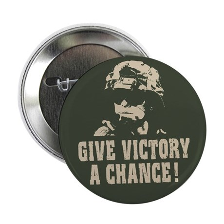 "Give Victory A Chance! 2.25"" Button (100 pack)"