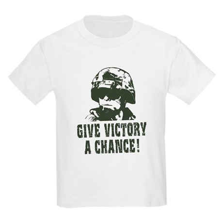 Give Victory A Chance! Kids T-Shirt