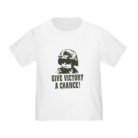 Give Victory A Chance! Toddler T-Shirt