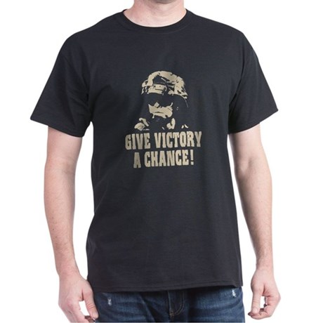 Give Victory A Chance! Dark T-Shirt