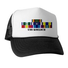 uss-koelsch-group-text Trucker Hat