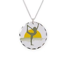 AccentImage yoga sun Necklace