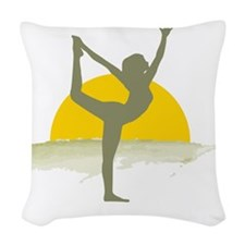 AccentImage yoga sun Woven Throw Pillow