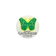 Gastroparesis-Butterfly Mini Button