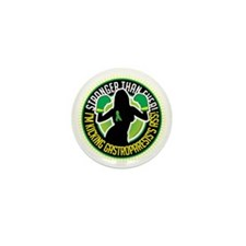 Gastroparesis-Boxing-Girl Mini Button