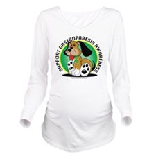Gastroparesis-Dog Long Sleeve Maternity T-Shirt