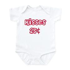 kisses 25 cents Infant Bodysuit
