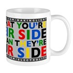 side/side regular mug       