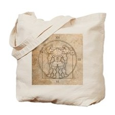 big_vitruv_clock Tote Bag