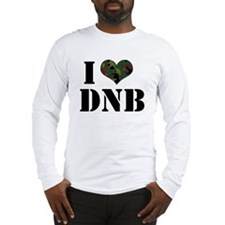 I Heart Drum & Bass Long Sleeve T-Shirt