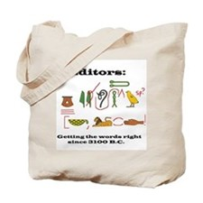 Editors in History Tote Bag