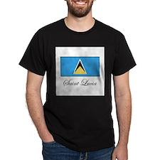 Saint Lucia - Flag T-Shirt