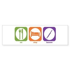 Eat Sleep Bassoon Bumper Bumper Sticker