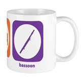 Eat Sleep Bassoon Small Mug