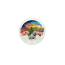 XMusic2-English Bulldog (W) Mini Button
