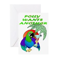 POLLYWANTSANOTHER Greeting Card