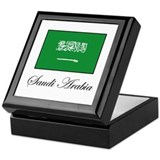 Saudi Arabia - Flag Keepsake Box