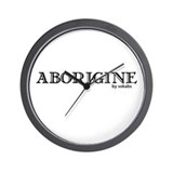 Aborigine Logo Wall Clock