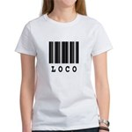 Loco Barcode Design Women's T-Shirt