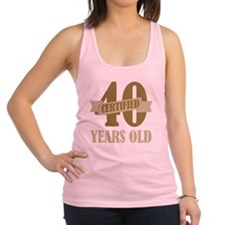 Certified40 Racerback Tank Top