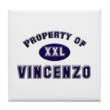My heart belongs to vincenzo Tile Coaster