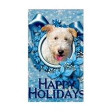 Blue_Snowflake_Wire_Fox_Terrie Decal