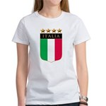 Italian 4 Star flag Women's T-Shirt
