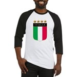 Italian 4 Star flag Baseball Jersey