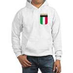 Italian 4 Star flag Hooded Sweatshirt