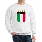 Italian 4 Star flag Sweatshirt