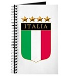 Italian 4 Star flag Journal