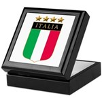 Italian 4 Star flag Keepsake Box