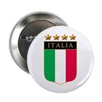 Italian 4 Star flag Button