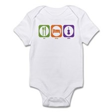 Eat Sleep Cello Infant Bodysuit