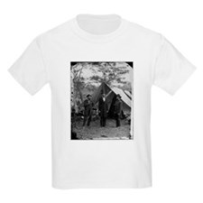 Lincoln by Matthew Brady Kids T-Shirt