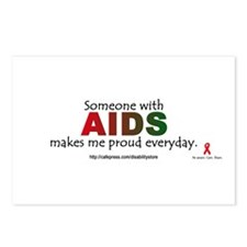 """AIDS pride"" Postcards (Package of 8)"