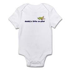 ::: Daddy's Little Co-Pilot ::: Infant Bodysuit