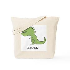 Personalized Dinosaur Tote Bag